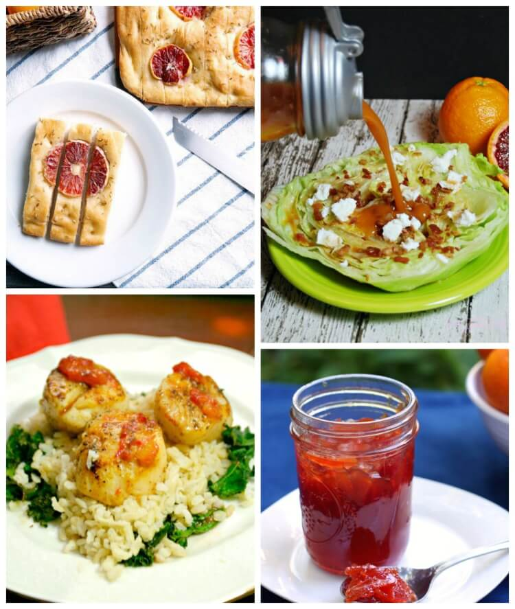 Blood Oranges are in season! More than 20 reasons from desserts to drinks! #yum #food