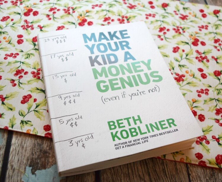 Make your kid a #MoneyGenius even if you're not w/ @BethKobliner's new book! #ad @SheSpeaksUp