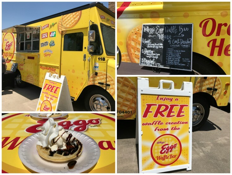 Where's the #EggoWaffleBar truck going next? Find out! #ad
