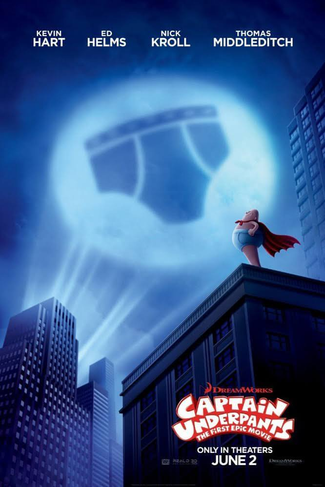 Check out my review for the new summer movie for the kids #CaptainUnderpants! #ad