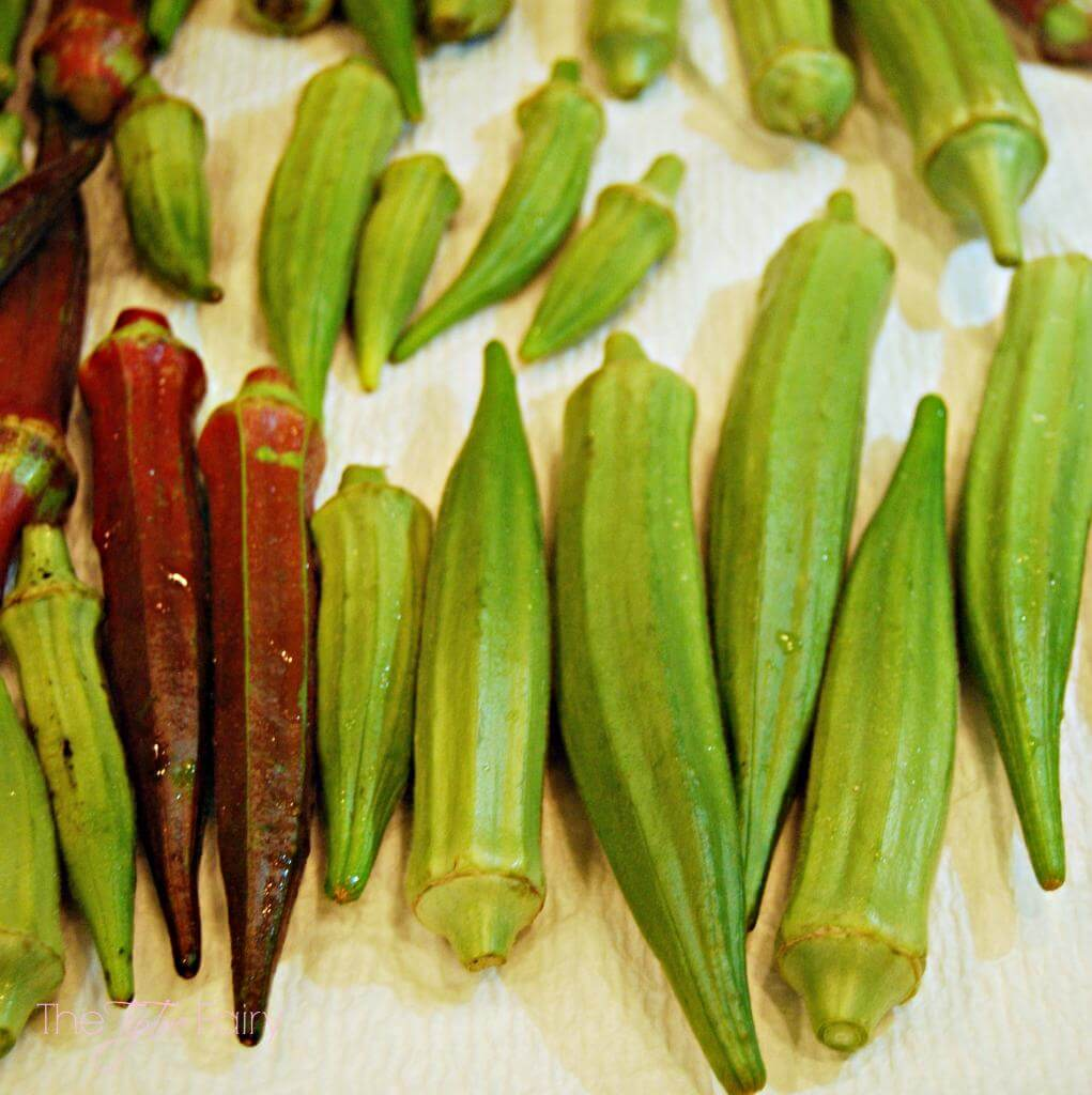 How to easily pickle okra without canning equipment! #recipe