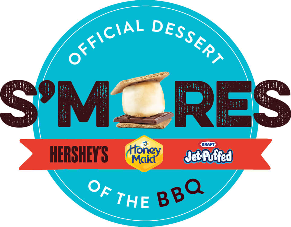 #ShareSmore for the perfect Labor Day dessert! #AD @HoneyMaidSnacks @Hersheys @KraftJetPuffed