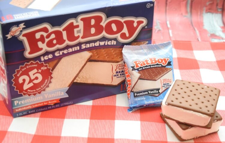 Tried a #fatboyicecream? See how we dip our ice cream sandwiches for a new twist! #youdeserveit #oldschoolcool #ad