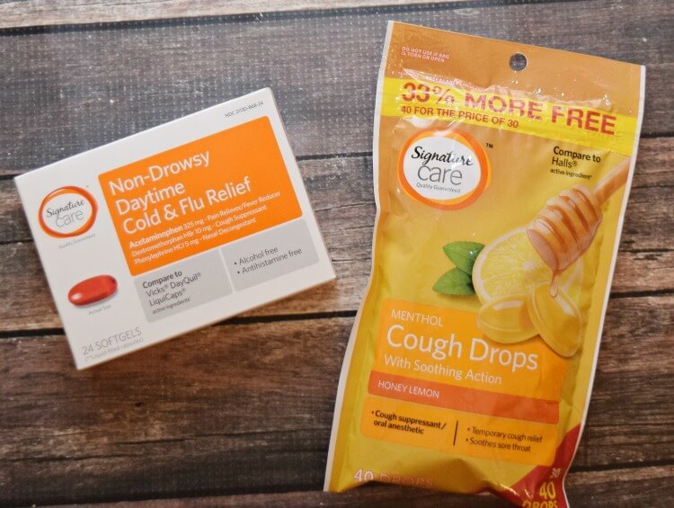 Ready for the cold & flu season? @MarketStreet_TX has all you need with Signature Care™ products! AD #SignatureCare