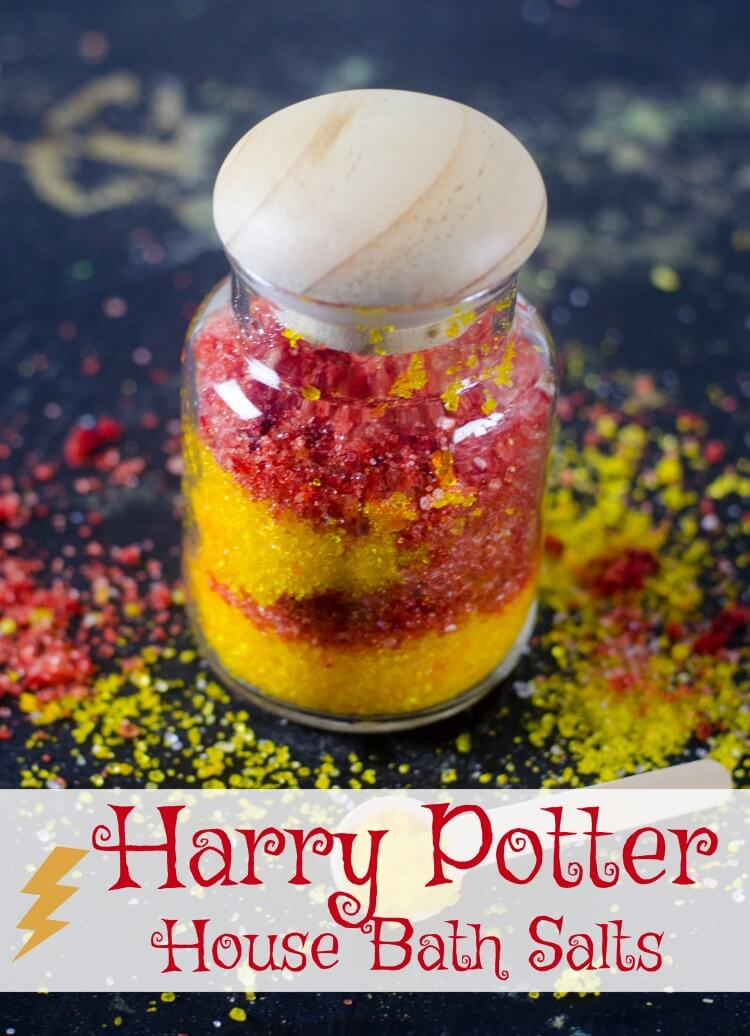 Harry Potter House Bath Salts