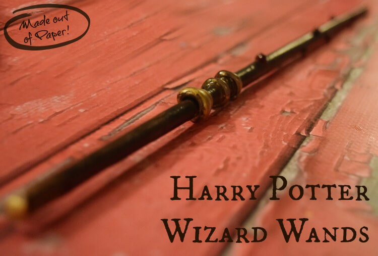 Make a Wizard Wand from Paper!