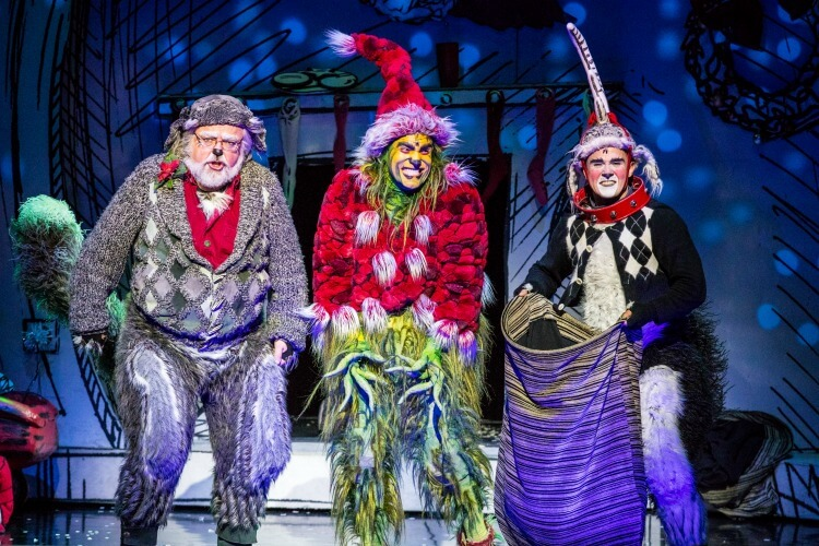 Dr. Seuss' How the Grinch Stole Christmas! The Musical is coming to Dallas at the @attpac! Get your tickets! #ad