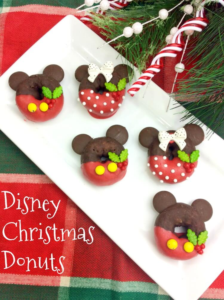 Make Your own Mickey & Minnie Disney Donuts!