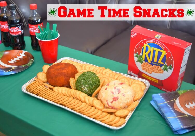 3 Easy Game Time Snack Cheese Balls they'll love! #ad #TogetherforGameTime @cocacolaunitedstates @ritzcrackers @Walmart @SheSpeaksUp