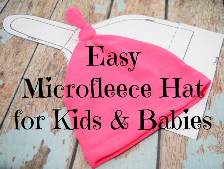 Microfleece Hat for Kids and Babies