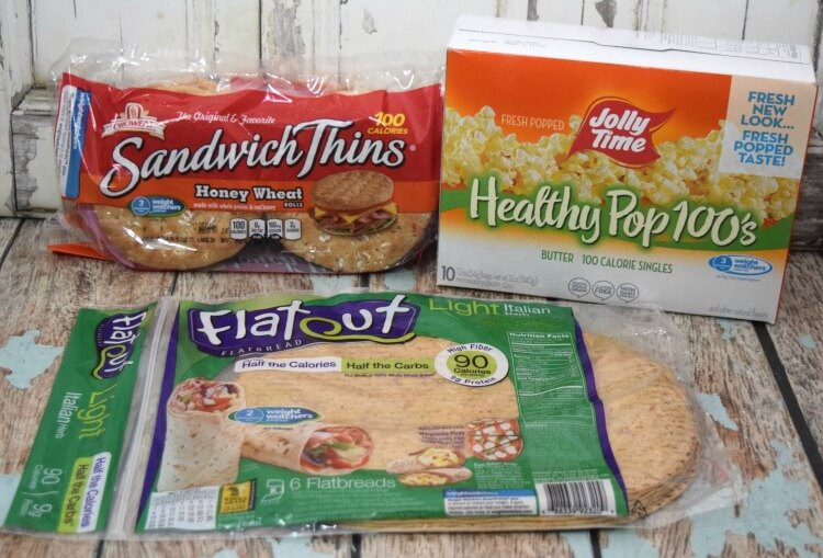 You can find different healthier products endorsed by Weight Watchers at Walmart.