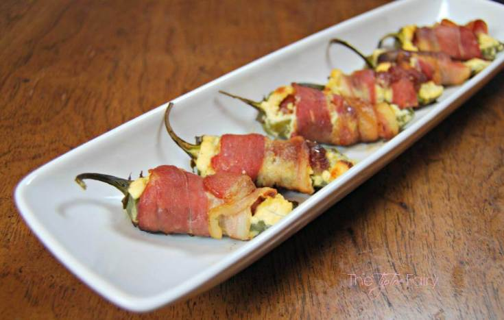 Bacon-Wrapped, Sausage Stuffed Jalapeno Poppers