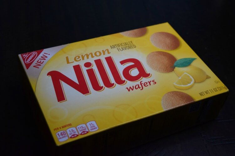 Lemon NILLA Wafers