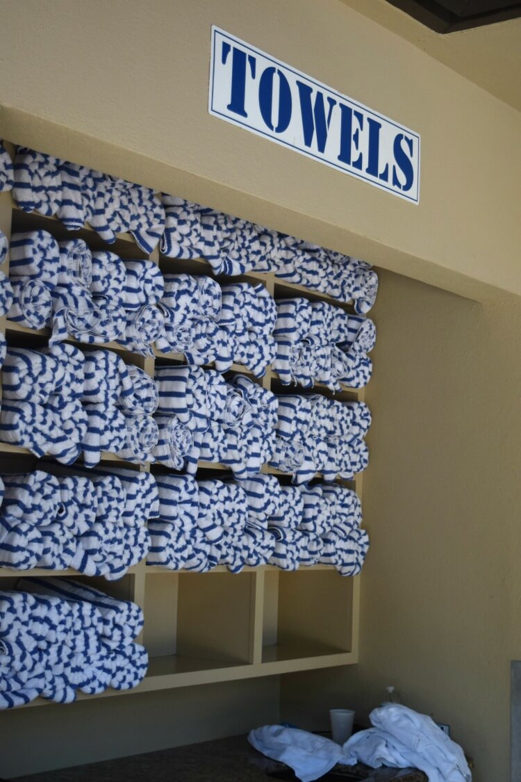 Towels at The Woodlands Resort