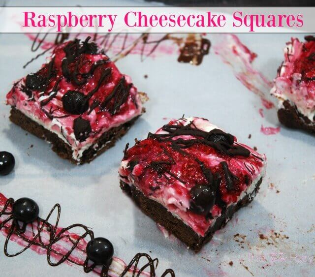 Raspberry Cheesecake Squares