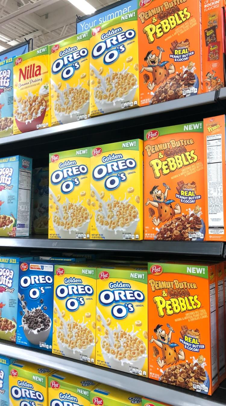 Where to find the new Peanut Butter & Cocoa Pebbles cereal at Walmart