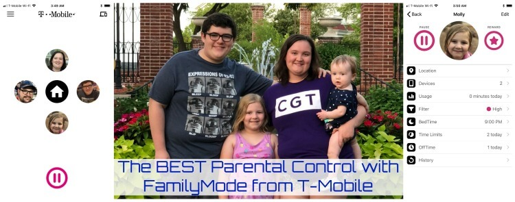 The BESTS Parental Control with FamilyMode from T-Mobile