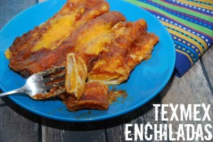 Cheesy TexMex Enchiladas