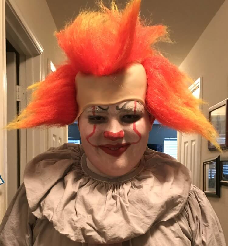 Pennywise Hair Wig