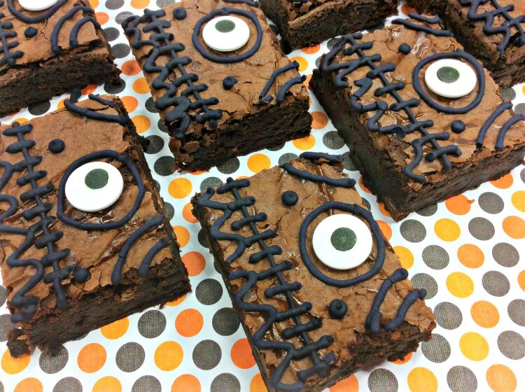 Hocus Pocus Spell Book Brownies for Halloween Treats