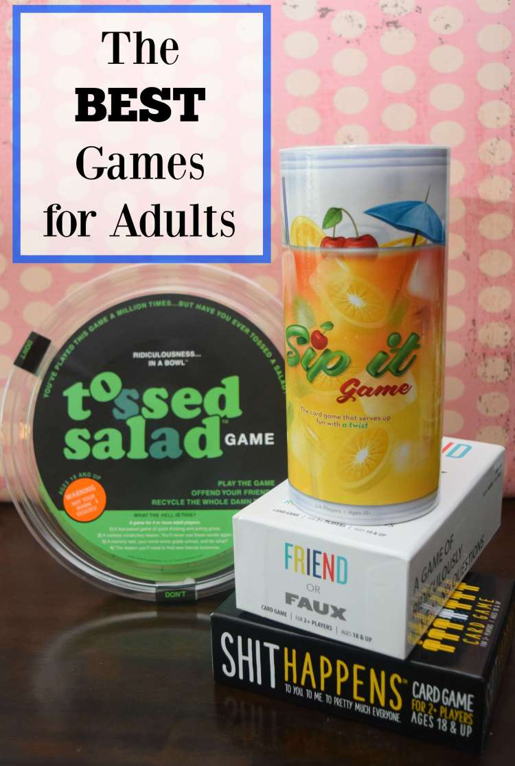 The BEST Adult games for game night!