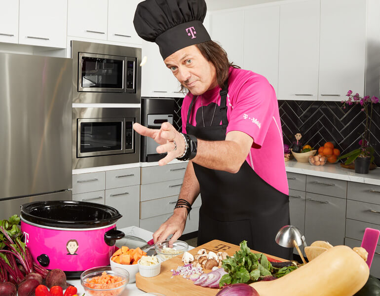 John Legere and Slow Cooker Sundays