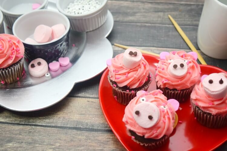 Year of the Pig Cupcakes