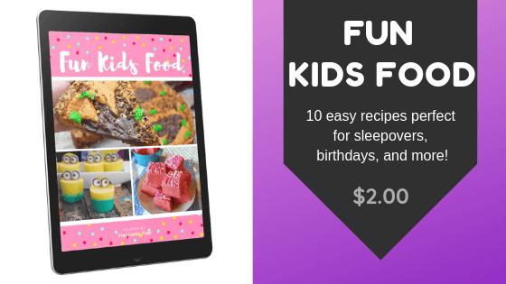 Fun Kid Food recipe eBook