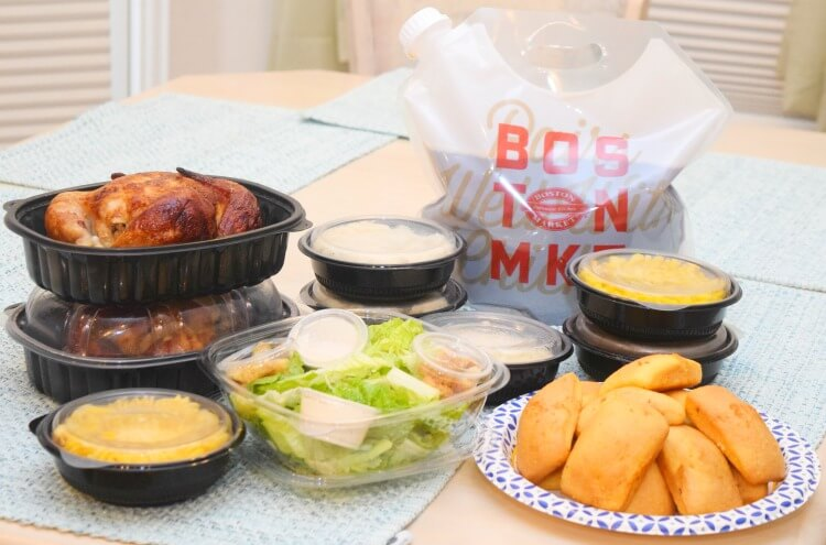 Family Meals for 6 at Boston Market