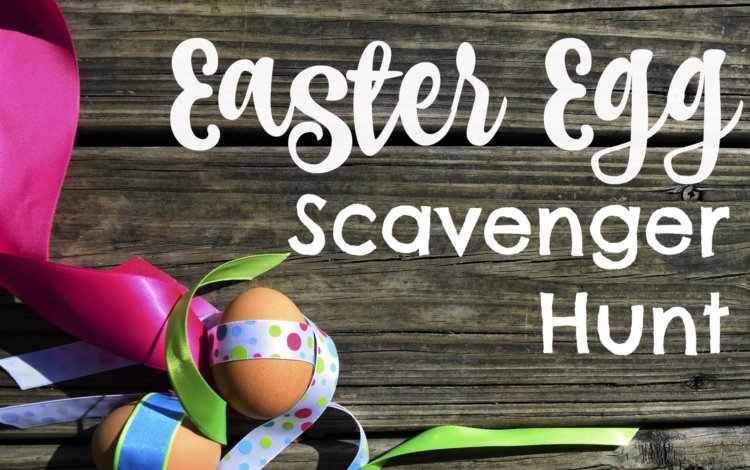 Make Your own Easter Egg Scavenger Hunt for the kids!