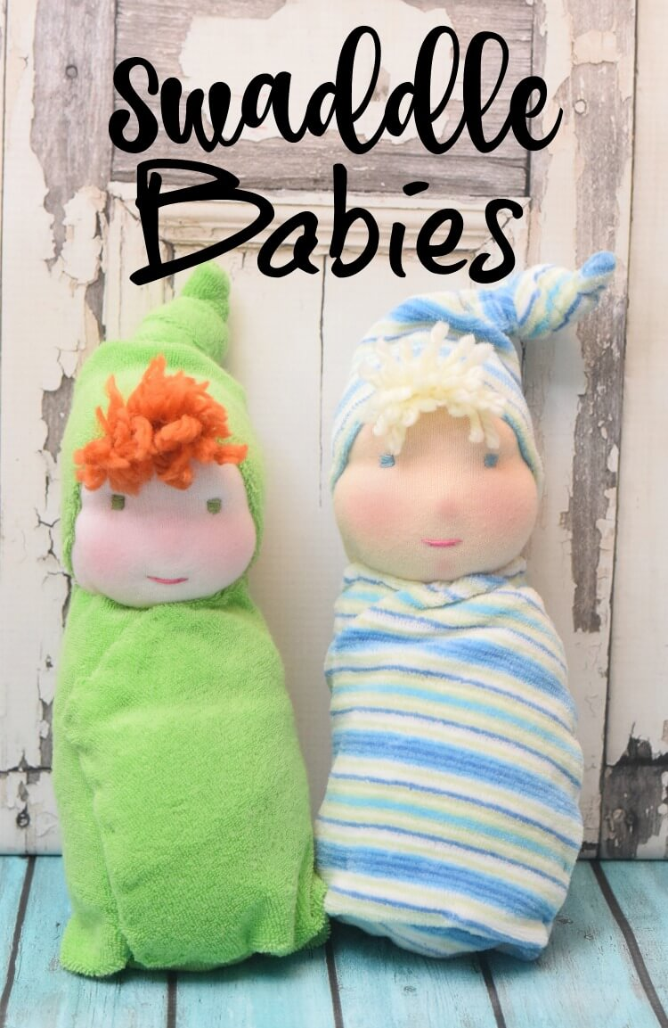 Let's sew a Swaddle Baby Doll