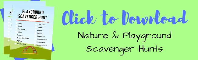 Click HERE to download the outdoor scavenger hunt packet.