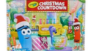 Crayola Christmas Kids Advent Calendar