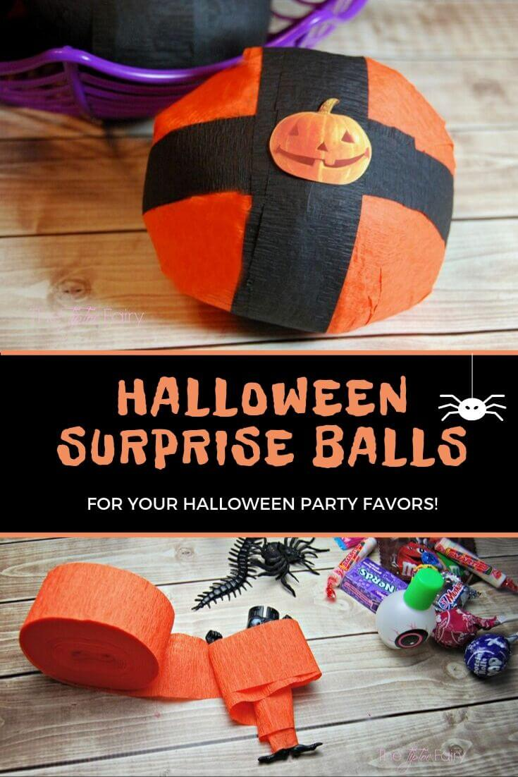 Halloween Party Favors Surprise Balls