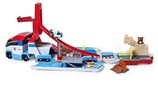 Paw Patrol Launch N Haul Paw Patroller Transforming 2-in-1 Track Set