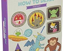 Tiger Tribe How to Draw Set, Fantasy Arts and Crafts Kit