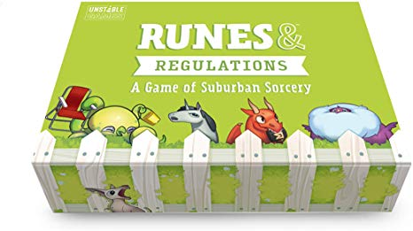 Runes &mRegulations Base Game - from The Creators of Unstable Unicorns