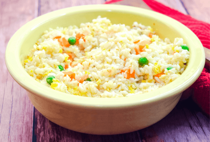 The EASIEST Fried Rice