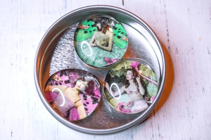 DIY Vintage Magnet Sets for Gifts