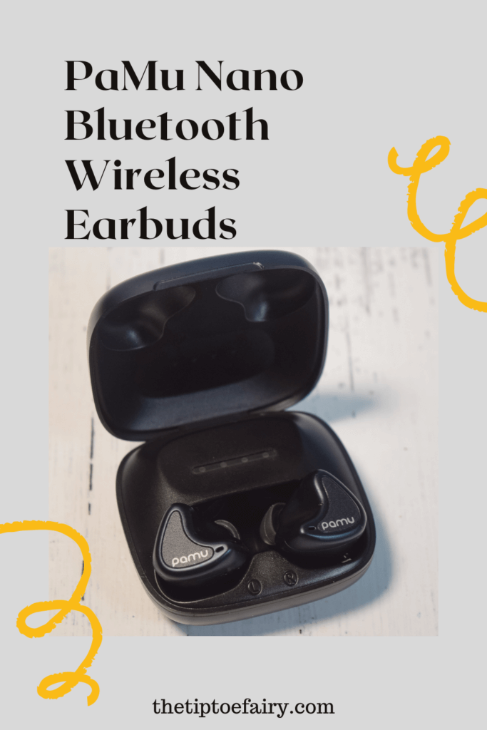 Title image with PaMu Nano Earbuds in the case