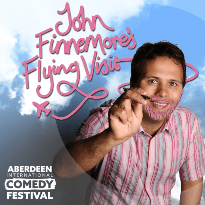 Aberdeen International Comedy Festival 2019: John Finnemore's Flying Visit