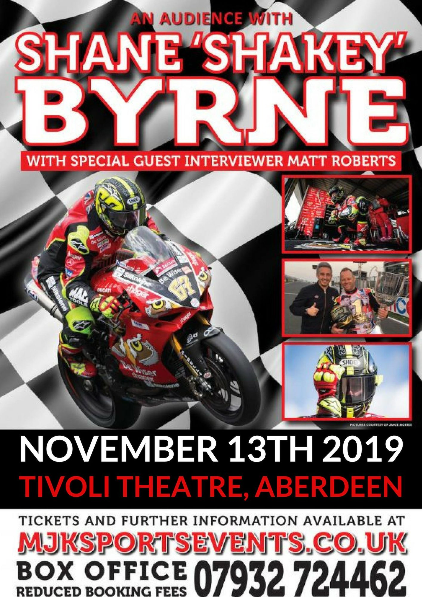 An Audience With Shane 'SHAKEY' Byrne