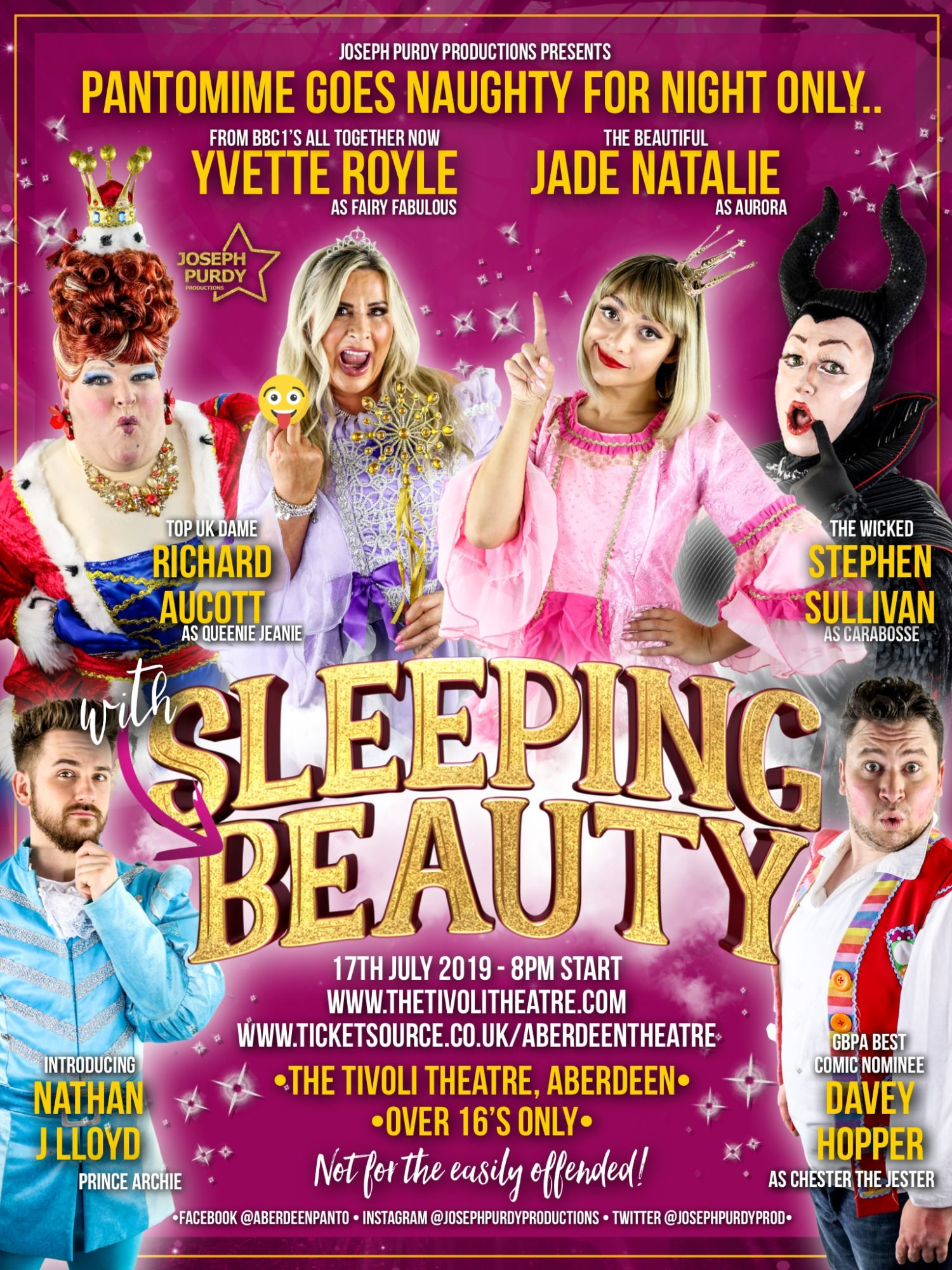 Sleeping with Beauty - ADULT PANTO NIGHT