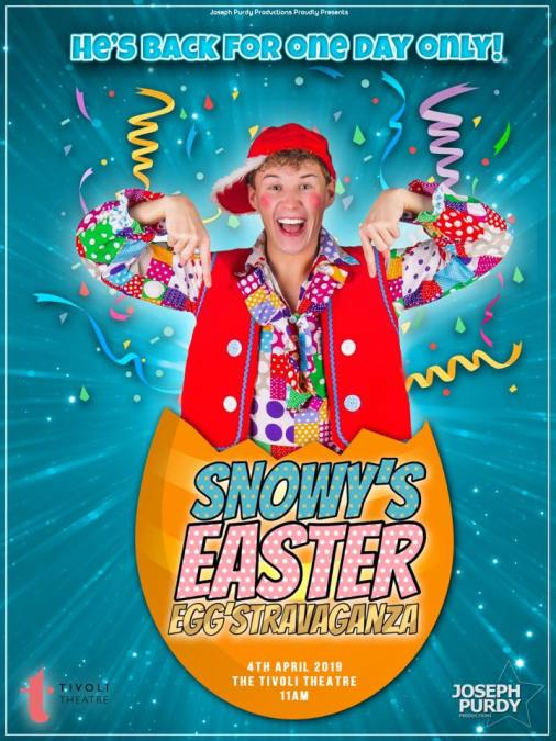 Silly Snowy's Easter Egg'stravaganza
