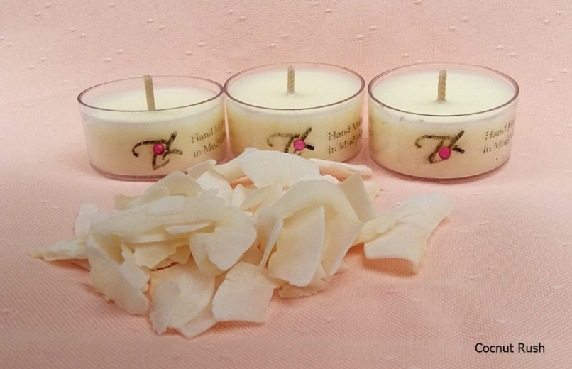 Scented Tea Light Candles Soy