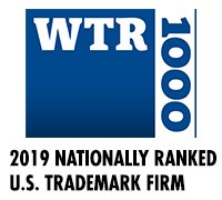 2019 Nationally Ranked US Trademark Firm