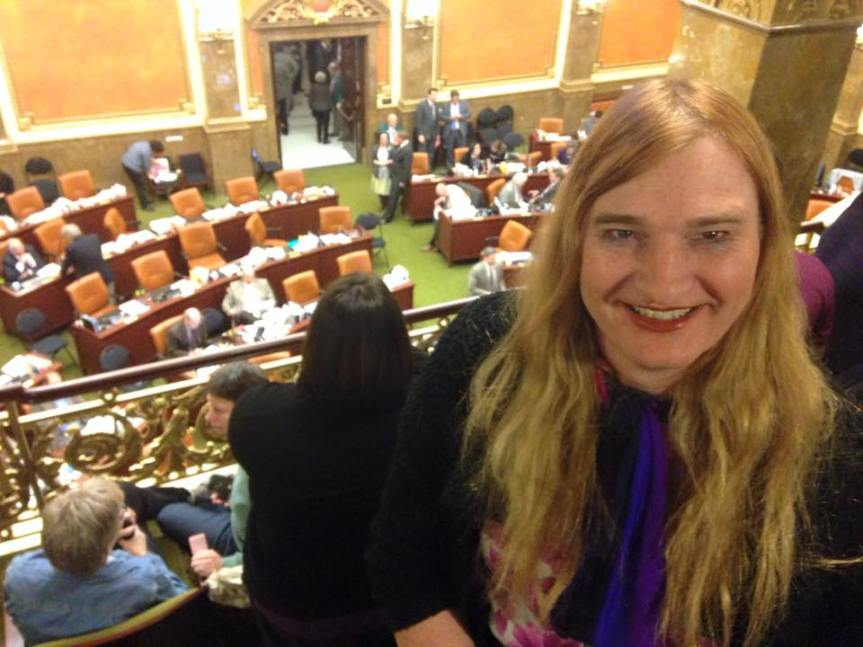 Hawes-Tingey on Her Way to Making History as First Transgender Mayor in Utah