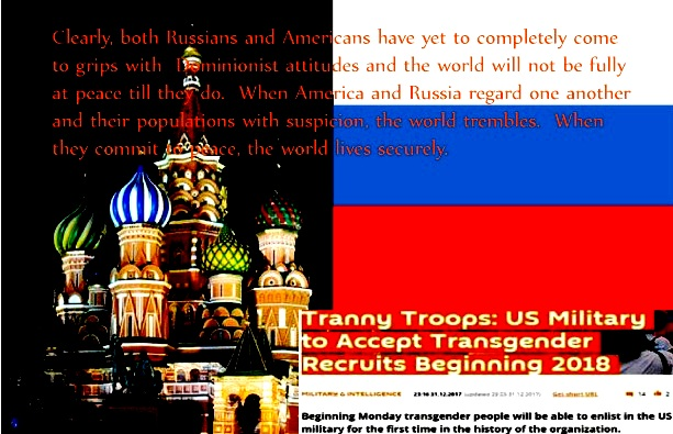 THE LGBT BELLWETHER: The world watches trans and LGBT rights in Russia and Amerika