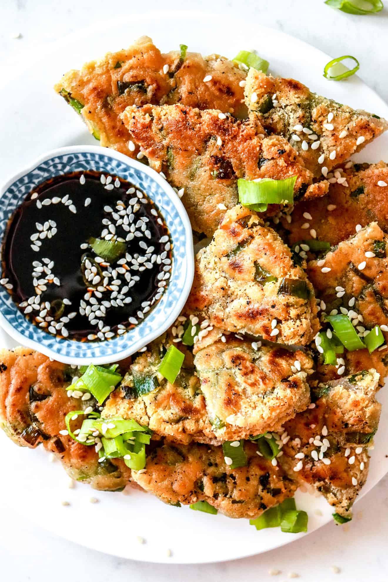 Scallion Pancakes (Vegan)