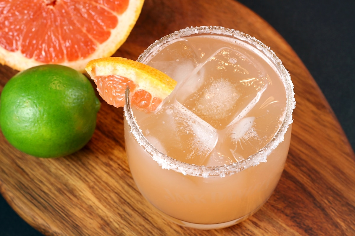 Fresh Grapefruit Margarita